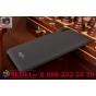 Фирменная задняя панель-крышка-накладка для  HTC Desire 728 из тончайшего и прочного пластика с нескользящим п..