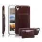 Фирменная роскошная элитная премиальная задняя панель-крышка для HTC Desire 728  из качественной кожи буйвола ..