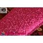 Фирменная роскошная модная задняя панель-чехол-накладка с блёстками для HTC Desire 816 Dual Sim малиновая..