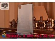 Фирменная ультра-тонкая полимерная из мягкого качественного силикона задняя панель-чехол-накладка для HTC Desi..