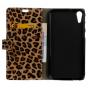 Чехол-защитный кожух для HTC Desire 820 dual sim / 820G+/820 S Dual Sim леопардовый коричневый..