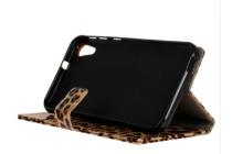 Чехол-защитный кожух для HTC Desire 820 dual sim / 820G+/820 S Dual Sim леопардовый коричневый