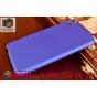Фирменная задняя панель-крышка-накладка из тончайшего и прочного пластика на HTC Desire 820 Dual Sim синяя..