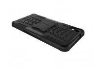 """Противоударный усиленный ударопрочный фирменный чехол-бампер-пенал для HTC Desire 825 Dual Sim 5.5"""" черный"""
