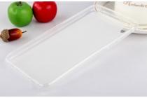 """Фирменная ультра-тонкая силиконовая задняя панель-чехол-накладка для HTC Desire 825 Dual Sim 5.5"""" белая"""