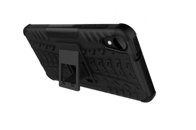 """Противоударный усиленный ударопрочный фирменный чехол-бампер-пенал для HTC Desire 825 Dual Sim 5.5"""" оранжевый"""