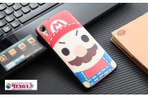 """Фирменная необычная уникальная пластиковая задняя панель-чехол-накладка для HTC Desire 828/ 828 dual sim 5.5"""" """"тематика супер Марио"""""""