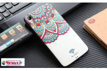 """Фирменная роскошная задняя панель-чехол-накладка из металла с объемным  3D изображением  на HTC Desire 828/ 828 dual sim 5.5"""" с безумно красивым рисунком  """"Тематика Эклектические узоры"""""""