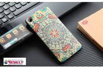 """Фирменная роскошная задняя панель-чехол-накладка из мягкого силикона с объемным  3D изображением  на HTC Desire 828/ 828 dual sim 5.5"""" с безумно красивым рисунком  """"Тематика Стильные узоры"""""""