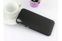 """Фирменная задняя панель-крышка-накладка из тончайшего и прочного пластика для HTC Desire 830 Dual Sim 5.5"""" черная"""