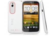Фирменная ультра-тонкая полимерная из мягкого качественного силикона задняя панель-чехол-накладка для HTC Desire V T328w белая