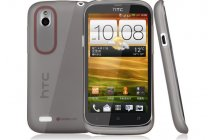 Фирменная ультра-тонкая полимерная из мягкого качественного силикона задняя панель-чехол-накладка для HTC Desire X T328e черная
