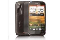 Фирменная оригинальная защитная пленка для телефона HTC Desire X T328e глянцевая