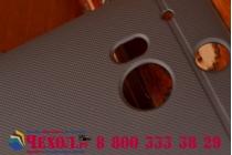 Фирменная задняя панель-крышка-накладка из тончайшего и прочного пластика для HTC One M8/M8s/(M8) EYE черная