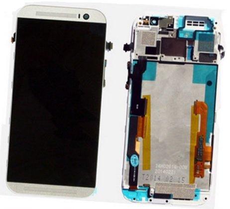 Фирменный LCD-ЖК-сенсорный дисплей-экран-стекло с тачскрином на телефон HTC One M8/M8s/(M8) EYE белый + гарантия