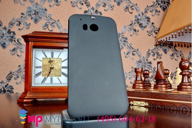 Фирменный оригинальный умный чехол Dot View flip case для HTC One M8/M8s/(M8) EYE черный