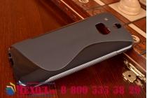 Фирменная ультра-тонкая полимерная из мягкого качественного силикона задняя панель-чехол-накладка для ХТС Уан М8 / М8 Дуал Сим черная