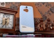 Фирменная необычная уникальная полимерная мягкая задняя панель-чехол-накладка для HTC One M9 Plus