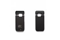 Чехол-бампер со встроенной усиленной мощной батарей-аккумулятором большой повышенной расширенной ёмкости 3500mAh для HTC One M9/ M9s/ M9 Prime Camera Edition черный + гарантия