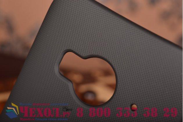 """Фирменная задняя панель-крышка-накладка из тончайшего и прочного пластика для  HTC One ME Dual Sim / M9e 5.2""""  черная"""