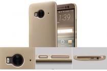 """Фирменная задняя панель-крышка-накладка из тончайшего и прочного пластика для  HTC One ME Dual Sim / M9e 5.2""""  белая"""