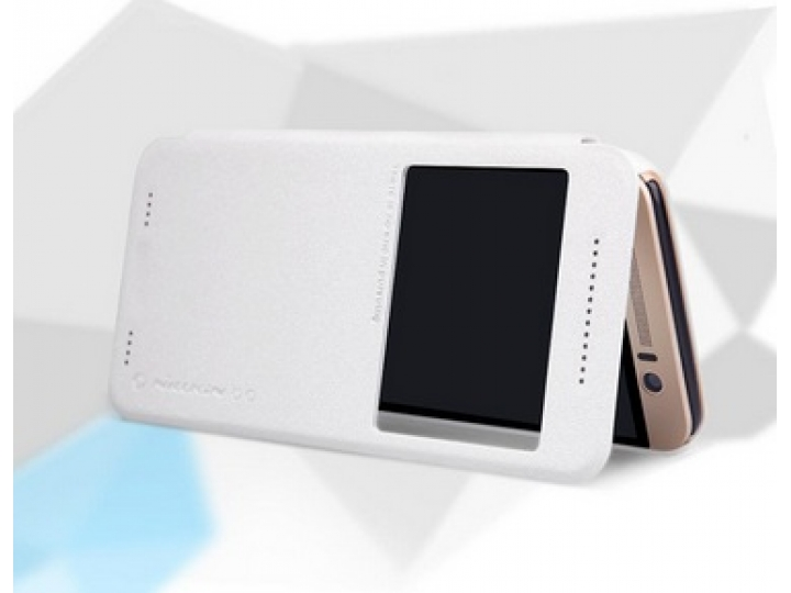 Фирменный оригинальный чехол-книжка для HTC One ME Dual Sim / M9e 5.2