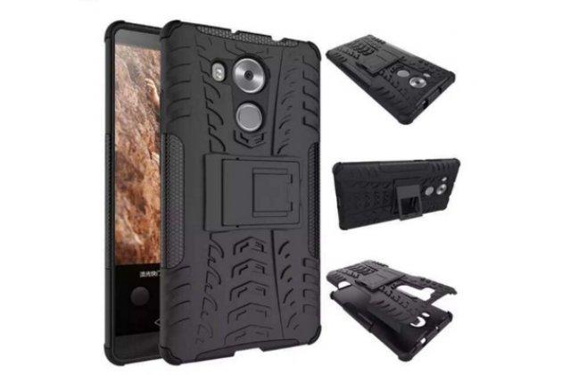 """Противоударный усиленный ударопрочный фирменный чехол-бампер-пенал для HTC One X9 5.5""""  черный"""