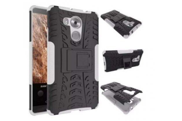 """Противоударный усиленный ударопрочный фирменный чехол-бампер-пенал для  HTC One X9 5.5""""  белый"""