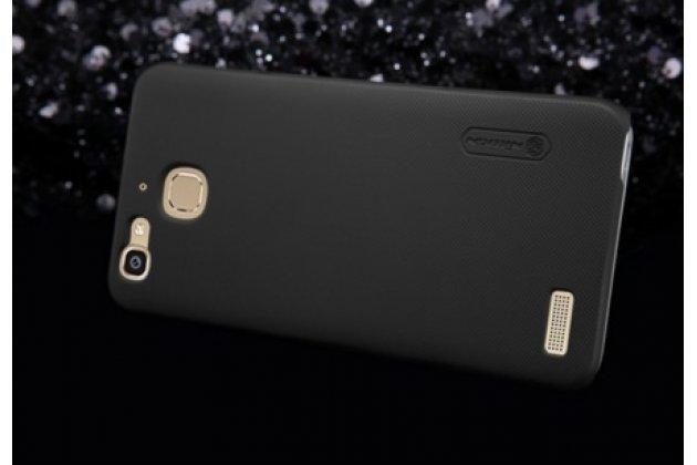 """Фирменная задняя панель-крышка-накладка из тончайшего и прочного пластика для HTC One X9 5.5"""" черная"""