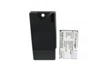 Усиленная батарея-аккумулятор большой повышенной ёмкости 2200mah для телефона HTC Touch Diamond 2 + задняя крышка черная + гарантия