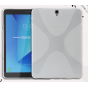 Фирменная ультра-тонкая полимерная из мягкого качественного силикона задняя панель-чехол-накладка для  Samsung..