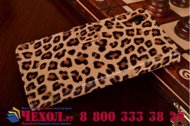 Чехол-защитный кожух для HTC Desire 626 /626 G+ Dual Sim леопардовый коричневый