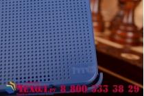 Чехол с мультяшной 2D графикой и функцией засыпания для HTC Desire 626 /626 G+ Dual Sim синий