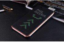 Фирменный оригинальный официальный умный чехол Dot View flip case для HTC Desire 626 /626 G+ Dual Sim черный