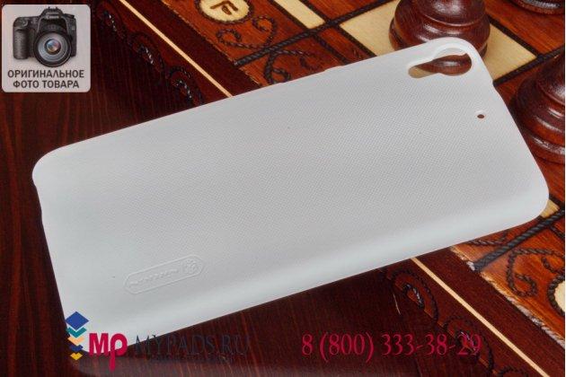Фирменная задняя панель-крышка-накладка из тончайшего и прочного пластика для HTC Desire 626 /626 G+ Dual Sim белая