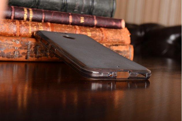 Фирменная ультра-тонкая полимерная из мягкого качественного силикона задняя панель-чехол-накладка для HTC Bolt/HTC Desire 10/ Desire 10 Lifestylle черная