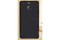 Фирменная ультра-тонкая полимерная из мягкого качественного силикона задняя панель-чехол-накладка для HTC Bolt/HTC Desire 10 черная