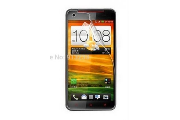 Фирменная оригинальная защитная пленка для телефона HTC Butterfly X920 глянцевая