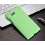 Фирменная задняя панель-крышка-накладка из тончайшего и прочного пластика для HTC Desire 600 зеленая..