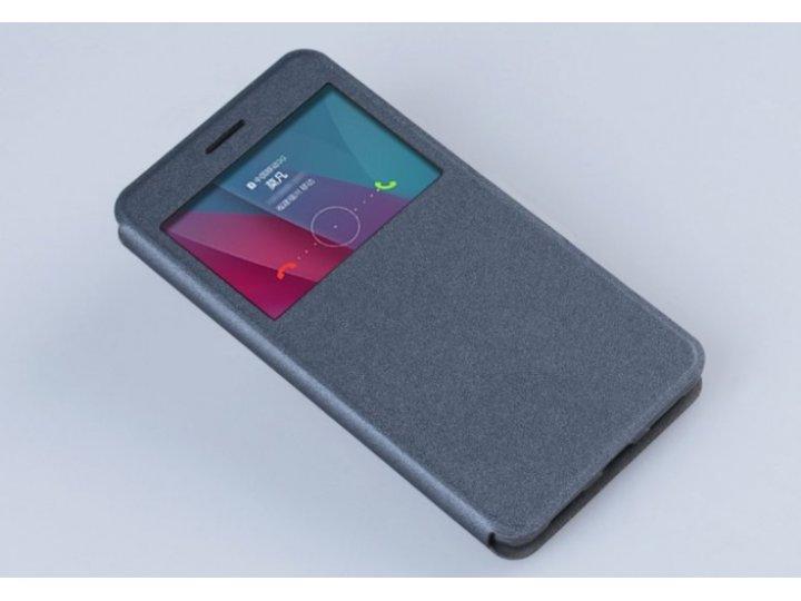 Фирменный оригинальный чехол-книжка для HTC Desire 620G Dual Sim 5