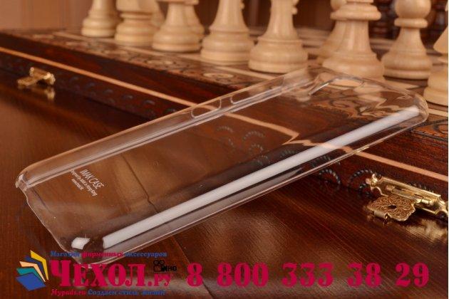 Фирменная ультра-тонкая пластиковая задняя панель-чехол-накладка для HTC Desire 620G Dual Sim прозрачная