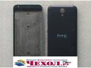 Родная оригинальная задняя крышка-панель которая шла в комплекте для HTC Desire 620G Dual Sim черная..
