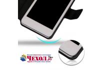Фирменный чехол-книжка водоотталкивающий для HTC Desire 626 /626 G  Dual Sim черный