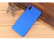 Фирменная задняя панель-крышка-накладка из тончайшего и прочного пластика для HTC Desire EYE синяя..