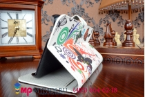 """Фирменный уникальный необычный чехол-книжка для HTC Desire Eye """"тематика цветок Сакуры"""""""