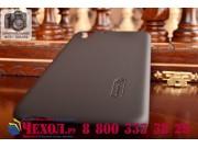 Фирменная задняя панель-крышка-накладка из тончайшего и прочного пластика для HTC Desire Eye черная..