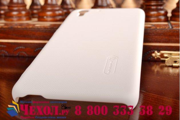 Фирменная задняя панель-крышка-накладка из тончайшего и прочного пластика для HTC Desire Eye белая