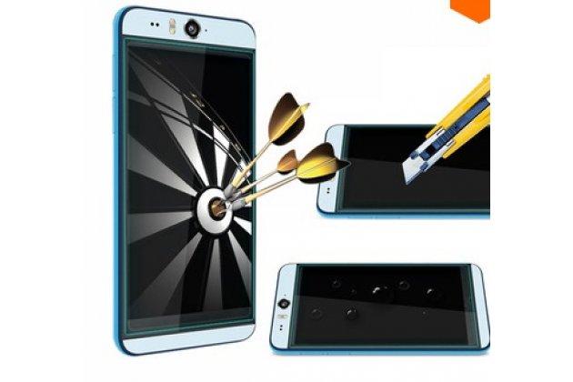 Фирменное защитное закалённое противоударное стекло премиум-класса из качественного японского материала с олеофобным покрытием для HTC Desire Eye
