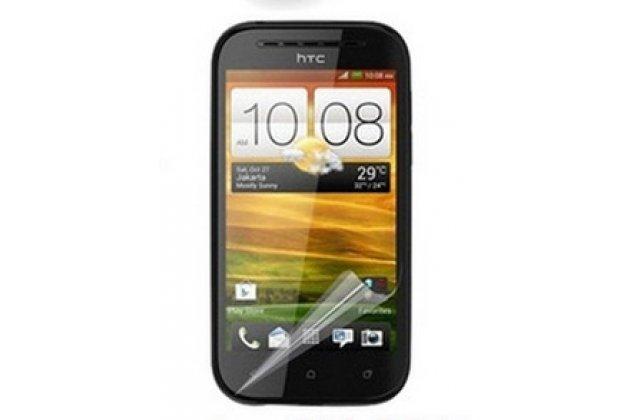 Фирменная оригинальная защитная пленка для телефона HTC Desire SV T326e глянцевая