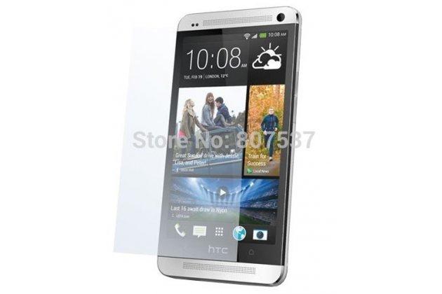Фирменная оригинальная защитная пленка для телефона HTC One M7 (801) глянцевая
